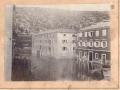 Poplava u Obrovcu, neko od Desnica (Petar), oko 1900-1910