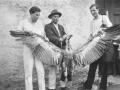 30-ih ..Plijen A. Miočevića - sa šeširom i Pepelinov (privatna zbirka M. Bakočević iz Zadra)