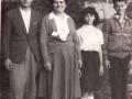 Bojovići 1959. (Momčilo, Sofija, Milja i Dragan)