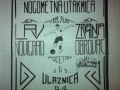 Plakat za prvu nogometnu utakmicu u Obrovcu