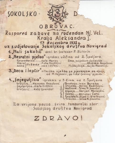 1932.-Sokolsko-društvo-Obrovac-gostovanje-Sokolskig-društva-iz-Novigrada-Zbirka-obitelji-Oštrić-Zekić-iz-Novigrada-min