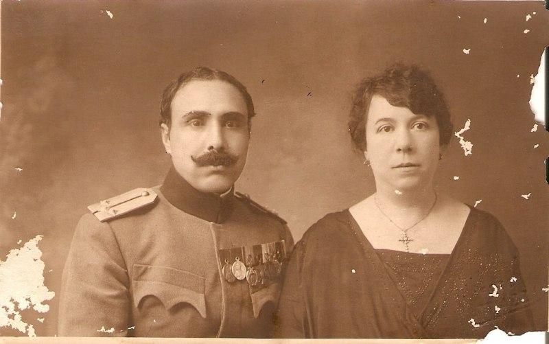 Olga-rođena-Urukalo-sa-suprugom-Stojanom-Živulovićem-Zbirka-Aleksandre-Urukalo-iz-Virovitice-min