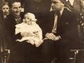1938. Marijana (1901.-1985.), Zvonko (1937.- 2015.) i Ante festini (1895.-1978.)