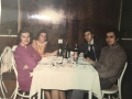 Aco i Gordana Gak, Mica Damiš i Rupnik Branko (doček nove 1971. godine)