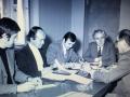 Dušan Vukanac i Male Simić sa zadarskim novinarima - 70-ih