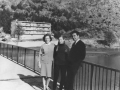 Lina, Maja i Mićo Jokić (Paraćinć) 60-ih