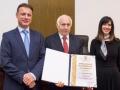 dr. sc. Marinko Oluić-Nagrada hrv. Sabora za životno djelo na polju prirodnih znanosti