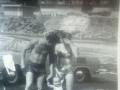 Šarlija Joso sa suprugom i Mariom (60-tih)