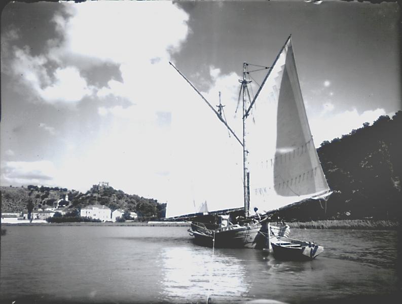 Zrmanja kod Obrovca-jedrenjak-oko 1930., Etnografski muzej Beograd